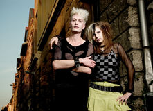 Punk couple Stock Photography