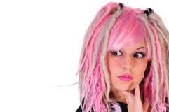punk de visage Images stock