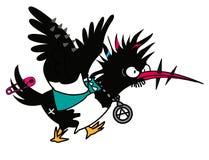 Punk dell'uccello Immagini Stock Libere da Diritti