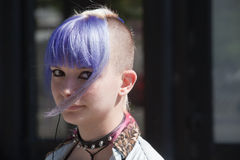 Punk fashion Royalty Free Stock Photography
