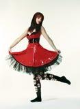 Punk fashion girl Stock Photo