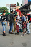 Punk fashion Stock Image