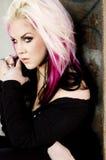 Punk Fashion Model Royalty Free Stock Photo