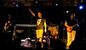 Punk-Felsen Band AMORALISCH Lizenzfreie Stockfotos