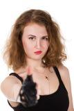 Punk femelle photographie stock libre de droits