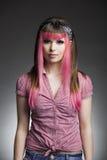 Punk flicka arkivbild