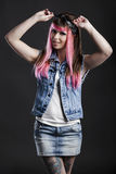 Punk Girl Royalty Free Stock Photo