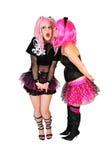 Punk girls Royalty Free Stock Photo