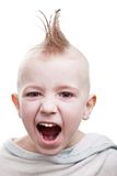 Punk hair child Royalty Free Stock Photo