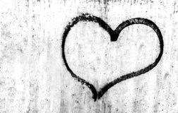 Punk heart Stock Photo