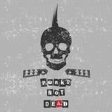 Punk ist nicht tot lizenzfreie abbildung