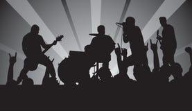 punk koncert Zdjęcia Royalty Free