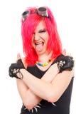Punk meisje Royalty-vrije Stock Foto's