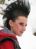 Punk meisje stock foto's