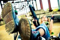 Punk militare Immagine Stock Libera da Diritti
