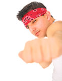 Punk Punch With Fist Royalty Free Stock Images