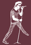 Punk Rock Stock Images