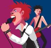 Punk rock. Royalty Free Stock Photo