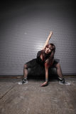 Punk rock dancer Royalty Free Stock Image