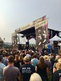 Punk rock-Konzert in Tacoma Lizenzfreie Stockfotografie