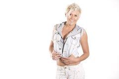 Punk rock-Mädchen Stockfoto