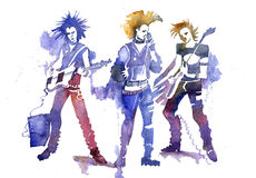 Punk rock Royalty Free Stock Images