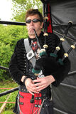 Punk Rock piper Royalty Free Stock Image