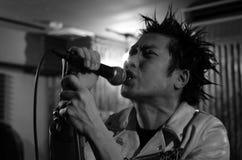 Punk Rocker. In Tokyo Japan Stock Photo