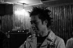 Punk rocker. In tokyo Japan Royalty Free Stock Photography