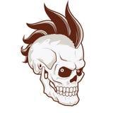 Punk skull Royalty Free Stock Photos