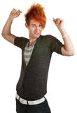 Punk Snapping Fingers Royalty Free Stock Photo
