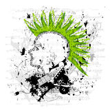 Punk/vettore Grungy di Emo Fotografia Stock