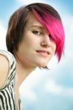 Punk woman portrait Stock Photography