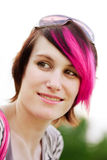 Punk woman portrait Royalty Free Stock Photography