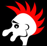 punker Στοκ εικόνα με δικαίωμα ελεύθερης χρήσης