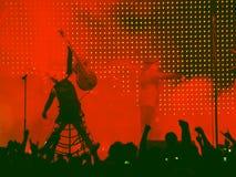 Punkfelsen concert3 Stockfoto