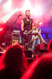 Punkgitarrist Lizenzfreie Stockfotos