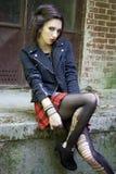 Punkmeisje Royalty-vrije Stock Afbeelding