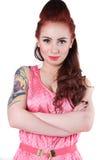 Punkowa dziewczyna Obraz Royalty Free