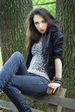 Punkowa dziewczyna Zdjęcie Stock