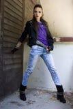 Punkowa moda Zdjęcia Royalty Free