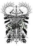 Punkowa wojna ilustracji