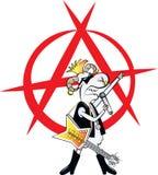 Punkowy bujak ilustracji