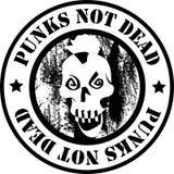Punks Vector Logo. Punks not dead Logo. Vector Illustration Royalty Free Stock Photos