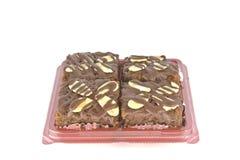 punktów czekolady dokrętka Zdjęcia Royalty Free