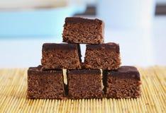 punktów czekolady koks Zdjęcie Stock