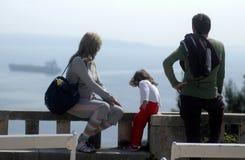 punktów obserwacyjnych rodzinnych young Obraz Stock