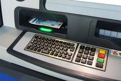 punkt bankomatu kasy Obrazy Royalty Free