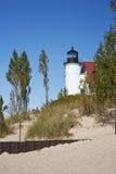 Punkt Betsie Leuchtturm Lizenzfreie Stockbilder