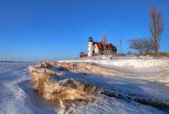 Punkt Betsie-Leuchtturm Stockfoto